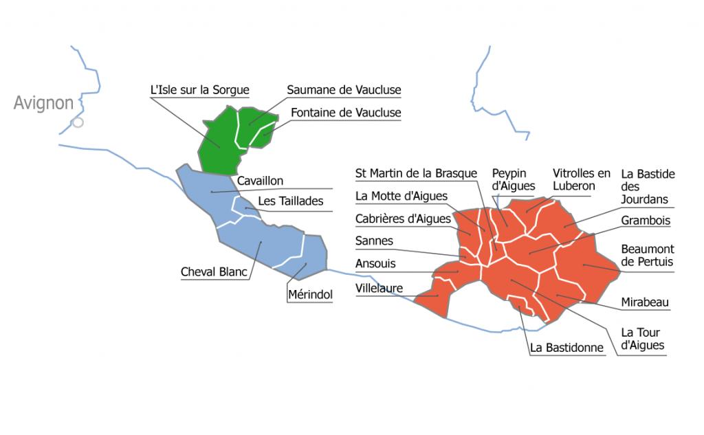 Territoire et communes du SIECEUTOM